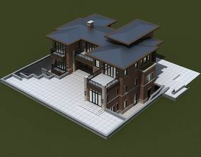 3D model house architectural