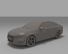Honda Accord Sport Sedan 2018 3D Model for Print
