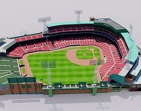 Fenway Park - Boston 3D model