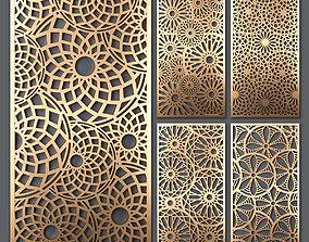 3D Decorative panel set 49