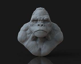 3D print model Bust of Garilla
