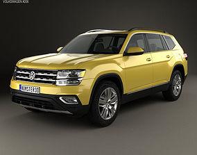 3D Volkswagen Atlas SEL 2018