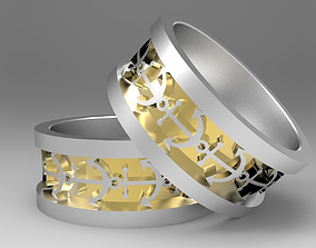 3D printable model Mens Anchor Ring