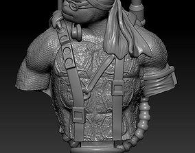 Teenage Mutant Ninja Turtles Donatello 3D print model