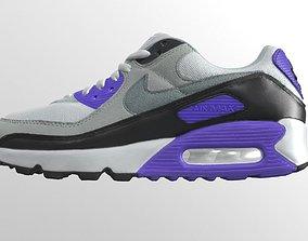 Nike Air max 90 sneaker 3D asset
