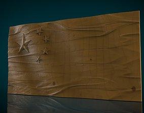 3D print model China Flag
