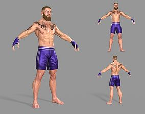 UFC Boxer 3D asset VR / AR ready