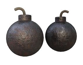 3D asset Pirate Bomb