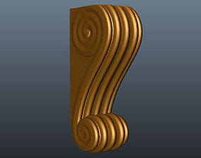 models leg for cnc 3D printable model