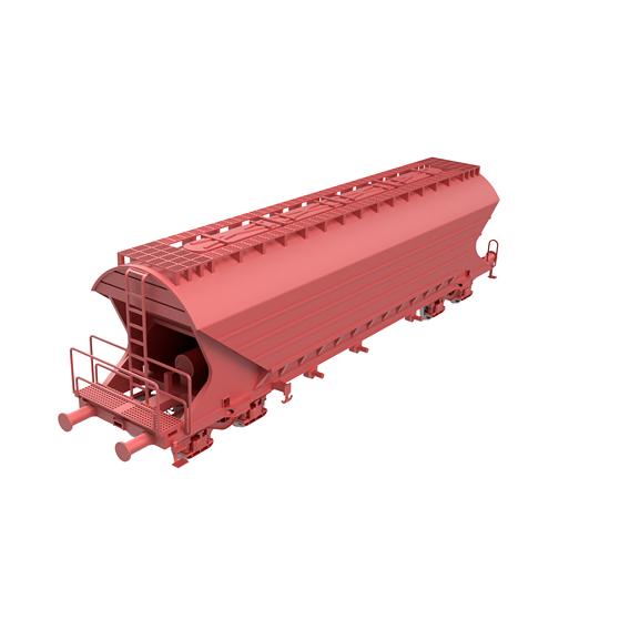 Tagps/Uagps sliding roof freight wagon