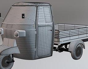 Tuk-tuk Three wheeler 3D