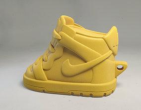 Cute Nike Dunks shoe keyring - Chibi 3D print model 1