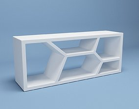 furniture Organic TV Stand 3D