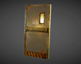 Industrial Metal Door 3D asset