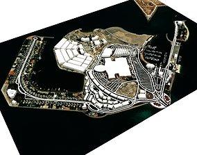 3D model AL Marina Island Abu Dhabi