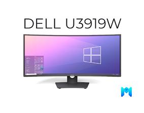 3D model Dell U3419W curved monitor