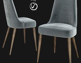 3D asset Zuma Pumice Accent Chair Skyline Furniture