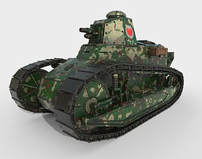 Renault FT-17 French 3D