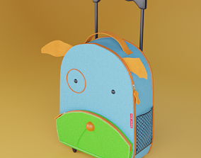 3D model Kids Suitcase Doggy