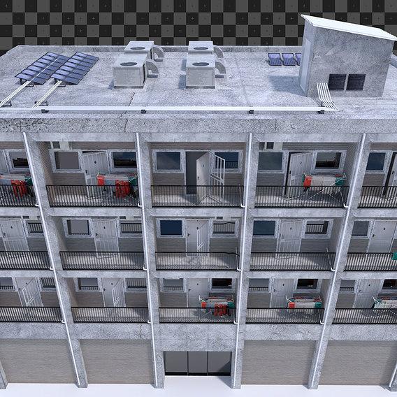 Progress on my Urban low cost housing project