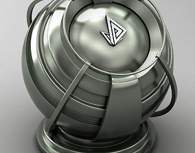 3D VRAY SHADER---METAL---Dysprosium