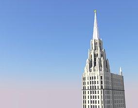 Chicago Temple Building 3D print model