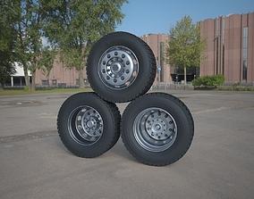 3D model shipping Truck Tire