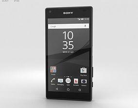 Sony Xperia Z5 Compact Graphite Black smartphone 3D model