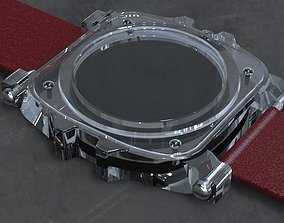3D print model Crystal Sapphire Watch Case for ENLOONG