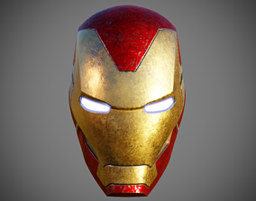 3D printable model Iron Man Helmet Mark 85