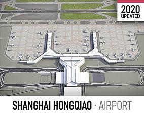 Shanghai Hongqiao International Airport - SHA 3D asset
