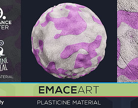 PBR Plasticine Material 3 Substance Unity 3D model