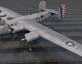 Consolidated B-24J Liberator 3D model