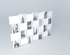 3D model Photo Frame Offset Maisons du monde