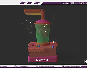 3D model JUICE TOY MACHINE - Gaming Product