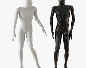 Abstract man mannequin 02 3D model