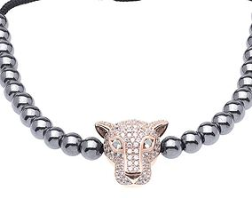 3D print model Panther full diamond charm original design