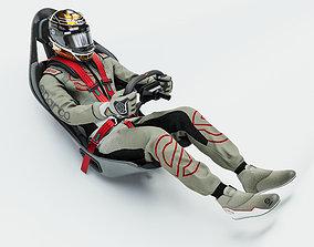 3D Race Driver Suit