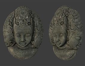 3D asset Tribal Mask