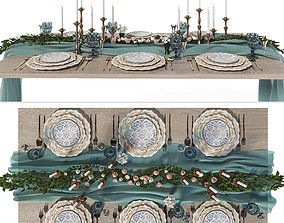 Tableware interior 3D