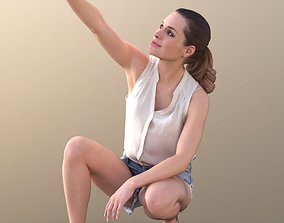 Juliette 10794 - Selfie Summer Woman 3D asset