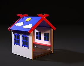3D village Children playhouse