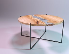 Nelson River Coffee Table 3D model