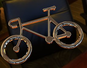 3D printable model Bicycle Pendent or Keychain