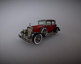 Antique Car Cadillac 3D model