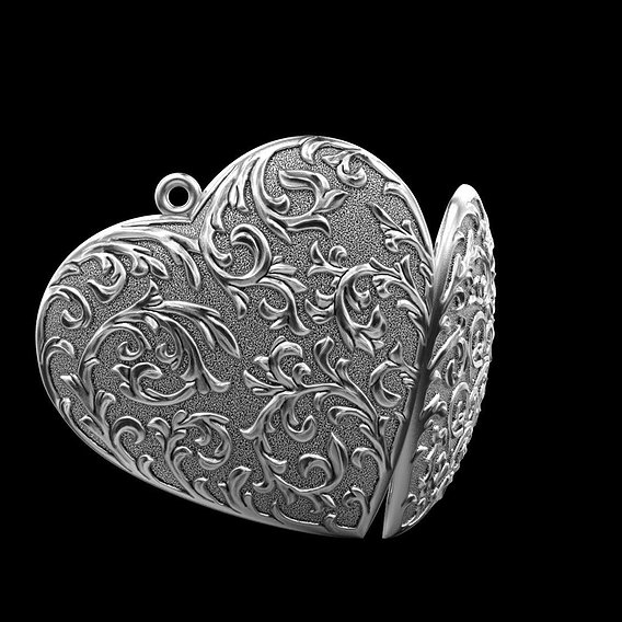 Pendant heart