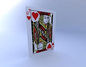 Jack of Hearts 3D model