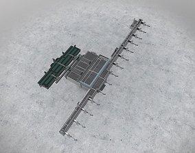 EGCC Terminal 2 3D asset