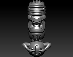 Mic Pendant 3D print model