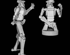 3D print model Tacticool Robot Strategists